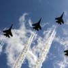Antisipasi Serangan Udara, TNI AU Patroli dengan 4 Pesawat Tempur di Langit Aceh