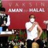 Kata Jokowi Usai Divaksin Corona