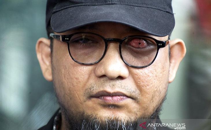 Penyidik Senior Komisi Pemberantasan Korupsi (KPK) Novel Baswedan. ANTARA FOTO/Yulius Satria Wijaya/aa.