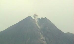 Gunung Merapi Batuk, Waspada Hujan Abu