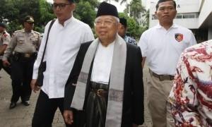 Doa Kiai Ma'ruf Amin untuk Ani Yudhoyono