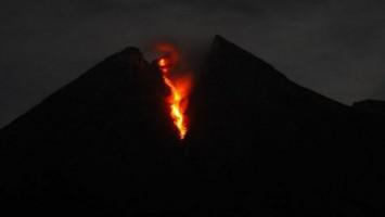 Gunung Merapi Keluarkan Guguran Lava 500 Meter, Warga Diminta Waspada