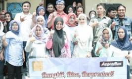 Rumah Rakyat Hasil Penggalangan Dana Ridwan Kamil Diresmikan