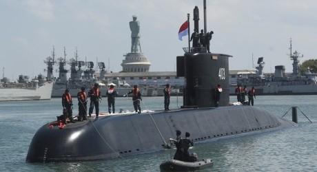Kapal Selam Baru KRI Nagapasa-403 Milik TNI AL