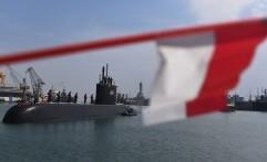 Kapal Selam KRI Ardadedali Resmi Perkuat Komando Armada II Surabaya