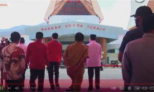 Jokowi Resmikan Bandara Toraja dan Pantar Alor