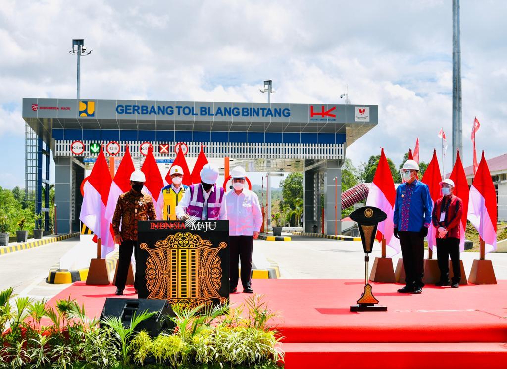 Resmikan Ruas Tol Sigli-Banda Aceh, Jokowi Harap Bisa Tingkatkan Perekonomian