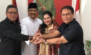 Gus Ipul-Puti Siap Perkuat Nawacita Jokowi