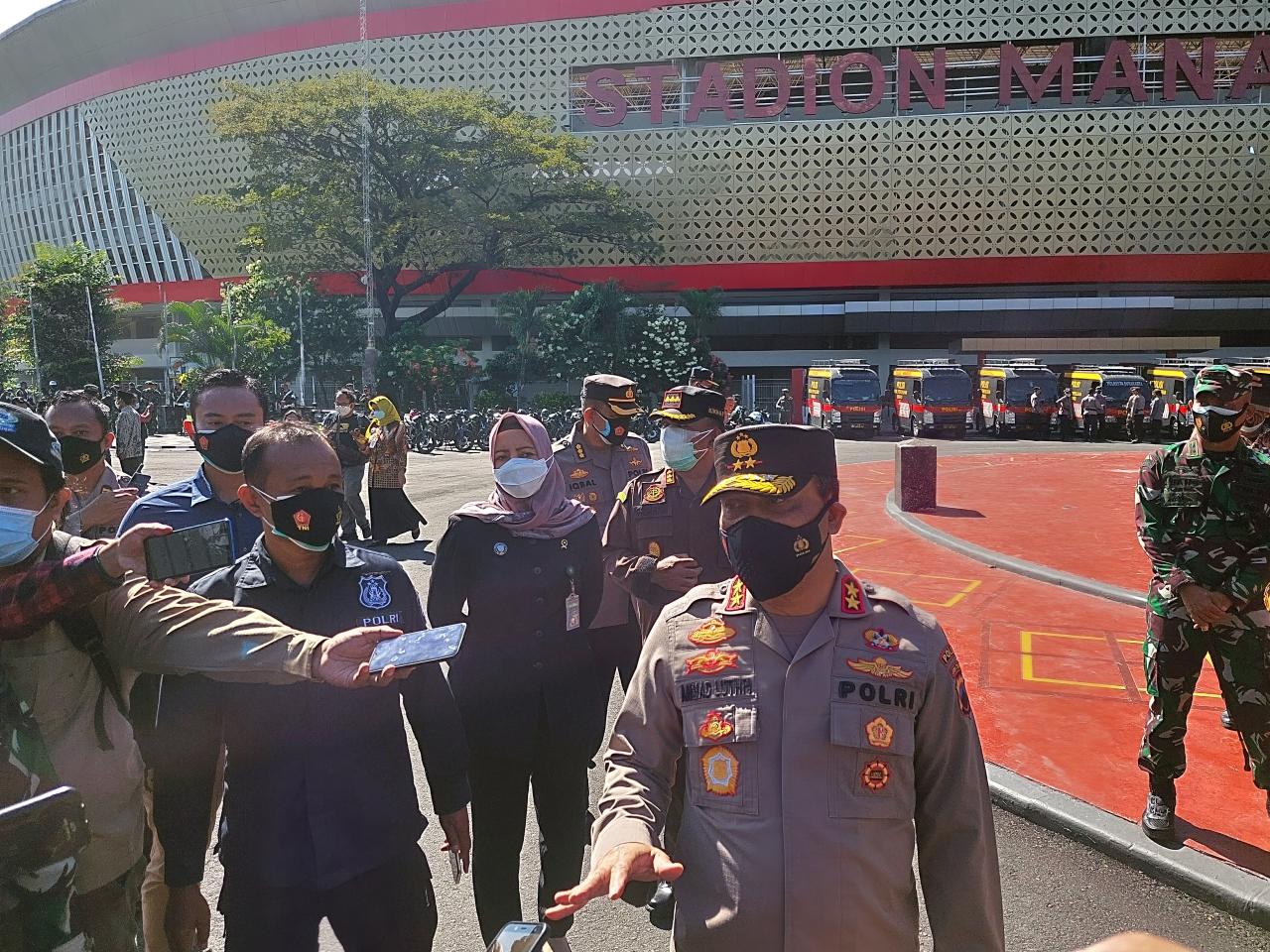 Kapolda Jawa Tengah Irjen Pol Ahmad Lutfi, Selasa (6/7). (MP/Ismail)