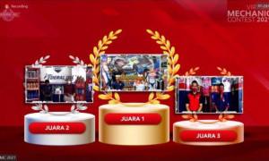 Grand Final Virtual Mechanic Contest 2021 Sukses Digelar