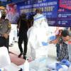 Menhub Budi Tinjau Pelaksanaan Rapid Test Antigen di Terminal Kampung Rambutan