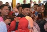 Presiden Jokowi di Mandailing Natal