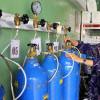 Surabaya Kekurangan Tabung Oksigen