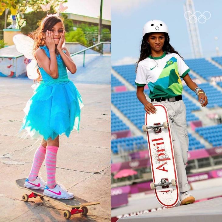 Rayssa Leal, Skateboarder Cilik Pemenang Medali Perak di Olimpiade Tokyo
