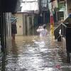 666 Rumah Mati Lampu Akibat Banjir DKI Jumat Pagi