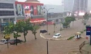 Hujan Deras, Malam Ini Delapan Kelurahan di Jakarta Barat Siaga III
