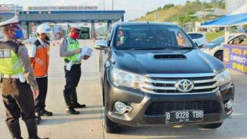 H+1 Idul Adha, Nyaris 350 Ribu Kendaraan Masuk Jakarta