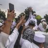 Rizieq Tak Izin ke Satpol PP Bikin Acara Peletakan Batu Pertama di Megamendung