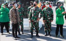[Hoaks atau Fakta]: KSAD Andika Adu Otot Dengan Tentara AS
