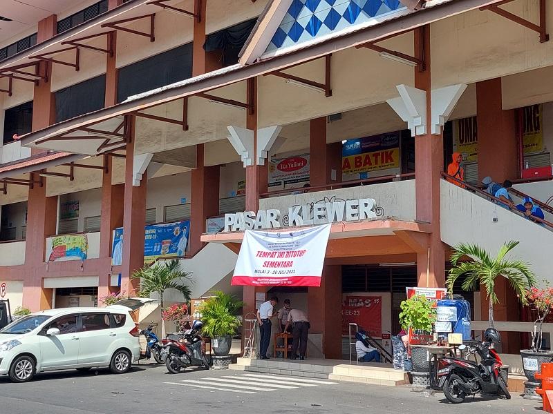 Pasar Klewer. (Foto: Ismail)