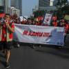 Peringatan Hari AIDS Sedunia di CFD Jakarta