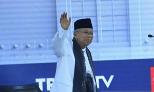 Ma'ruf Amin: Biarkan Masyarakat yang Menilai