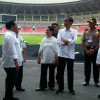 Jelang Pembukaan PON, Jokowi Resmikan Gedung Istora Bangkit