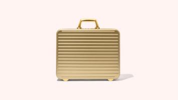 Bergaya Layaknya Eksekutif Muda dengan Gold Attache Briefcase dari Rimowa