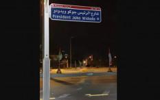 UEA Punya Jalan Presiden Joko Widodo di Abu Dhabi