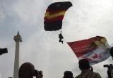 HUT Ke-71 Bhayangkara Di Lapangan Monas Jakarta