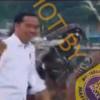 [HOAKS atau FAKTA]: Jokowi Berjoget di Kerumunan Tanpa Masker saat PON Papua