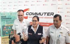 Kebijakan Work From Home dan Isu Corona Bikin Penumpang Kereta Api Anjlok Drastis