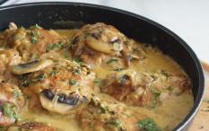 Bosan Makan Opor? Yuk Masak Ayam Krim Kari Jamur Ala Chef Putri Miranti