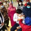 Khofifah Klaim Cakupan Vaksinasi COVID-19 Jatim Tertinggi Se-Indonesia
