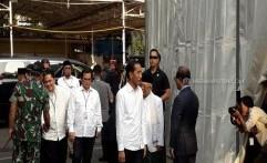 Berbusana Putih, Jokowi-Ma'ruf Hadiri Penetepan Presiden-Wapres Terpilih di KPU