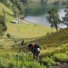 Muntahkan Lava Pijar, Pendakian ke Gunung Semeru Ditutup