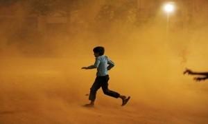 New Delhi Dilanda Badai Debu, Polusi Udara Masuk Tingkat Berbahaya