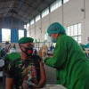 Vaksinasi 1.695 Anggota TNI Soloraya, Mabes TNI Kerahkan 112 Nakes