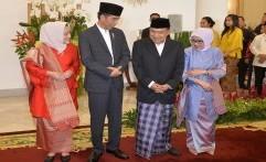Anies dan Sandi Kompak Bersilaturahmi dengan Presiden Jokowi