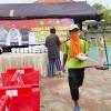 Polres Indramayu Bersama Kodim 0616 dan BPBD Dirikan Dapur Umum