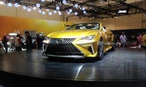Mobil Mewah Lexus LF-C2 Jadi Perhatian Pencinta Otomotif di GIIAS