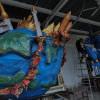 Pembuatan Ogoh-ogoh Jelang Hari Raya Nyepi