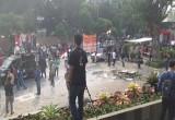 Redam Massa Aksi, Polisi Minta Pegawai KPK Copot Kain Hitam yang Tutupi Logo KPK