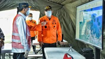 Basarnas Turunkan Kapal Pendeteksi Bawah Laut ke Lokasi Jatuh Sriwijaya Air