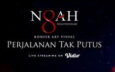 NOAH akan Gelar Konser Art Visual Pertama di Indonesia