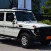 Mobil-Mobil dalam Rangkaian Konvoi Pengawal Presiden