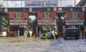 Begini Kondisi Banjir di Beberapa Ruas Jalan Tol Jakarta