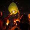 Ribuan Lampion Terangi Langit Dieng Culture Festival 2019