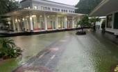 Seskab: Istana Banjir!