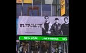 Lagu 'Lathi' Mendunia, Sosok Weird Genius Mejeng di Time Square New York